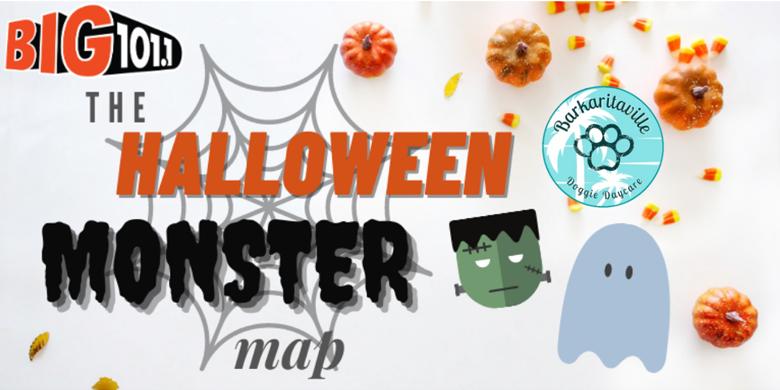 The Halloween Monster Map